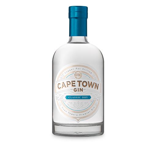 CAPE TOWN Classic Dry Gin (1 x 750ml)