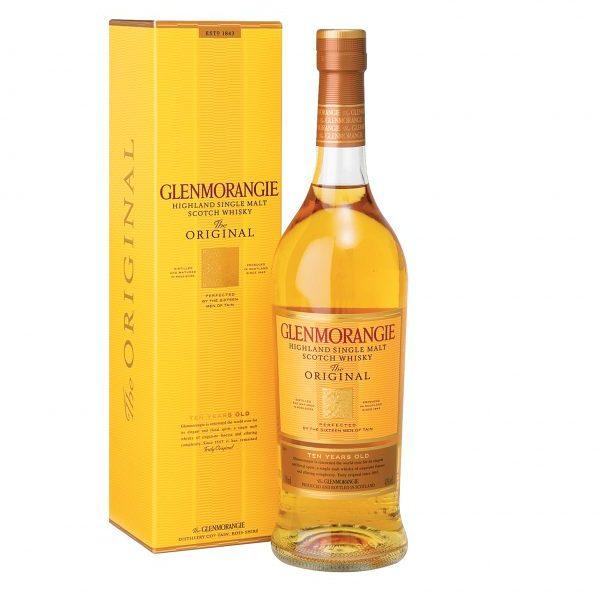GLENMORANGIE 10 YO Highland Single Malt Scotch Whisky (750ml)