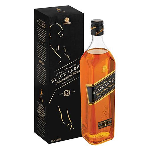 JOHNNIE WALKER Black Label Scotch Whisky (750ml)