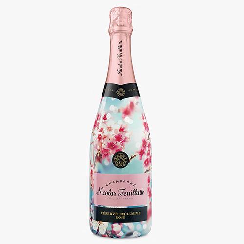 Nicolas Feuillatte Spring Blossom Rose Champagne 750ml