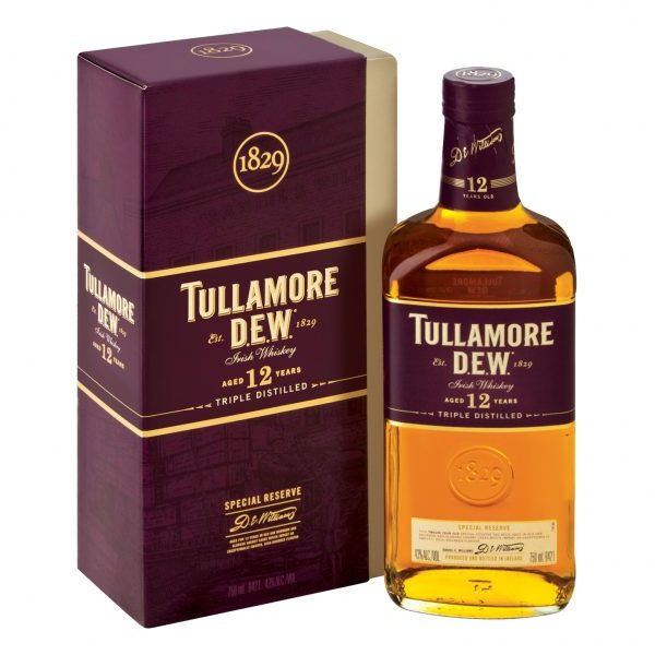 TULLAMORE DEW 12 YO Special Reserve Irish Whiskey (750ml)