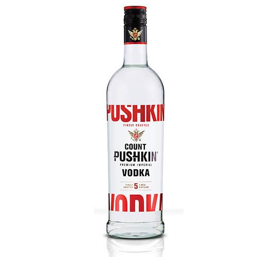 Count Pushkin Vodka (1 x 750ml)