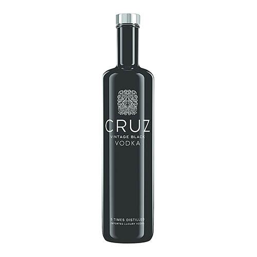 CRUZ Vintage Black Vodka (1 x 750ml)