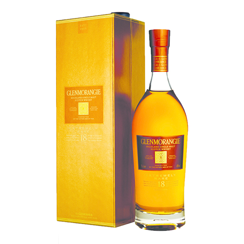 GLENMORANGIE 18 YO Single Highland Malt Scotch Whisky 750ml