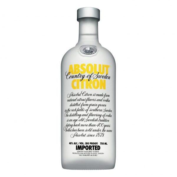 ABSOLUT Citron Vodka (750ml)