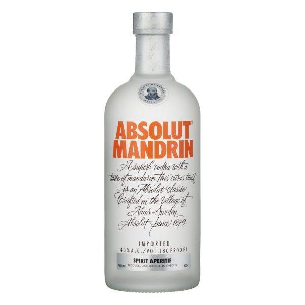 ABSOLUT Mandarin Vodka (750ml)