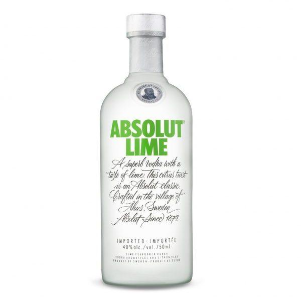 ABSOLUT Lime Vodka (750ml)