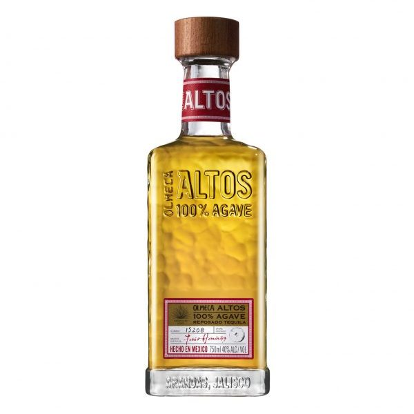 OLMECA Altos 100% Agave Reposado Imported Tequila 750ml
