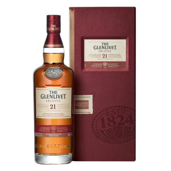 THE GLENLIVET 21 YO Single Malt Scotch Whisky 750ml