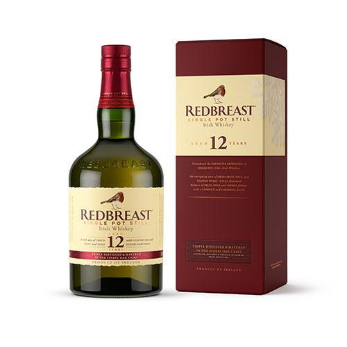 REDBREAST 12 YO Irish Malt Whiskey in Gift Box 750ml
