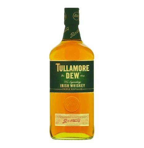 TULLAMORE DEW 14 YO Irish Triple Distilled Single Malt Whiskey (750ml)