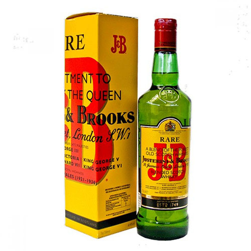 J & B Rare Scotch Whisky (750ml)