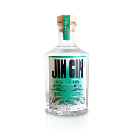 Jin Gin Olive & Honey 750ml