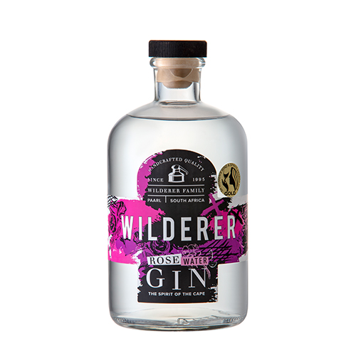 Wilderer Rosewater Gin (1X750ML)