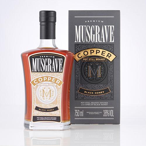 Musgrave Vanilla Black Honey Copper Pot Still Brandy (1x750ml)